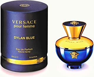 Versace Versace Dylan Blue Pour Femme 3.4 Oz ادو پرفیوم اسپری، 3.4 اونس