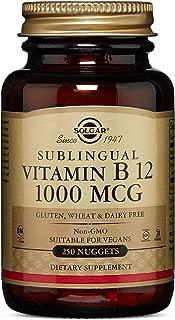 Solgar - Vitamin B12, 1000 mcg, 250 Nuggets
