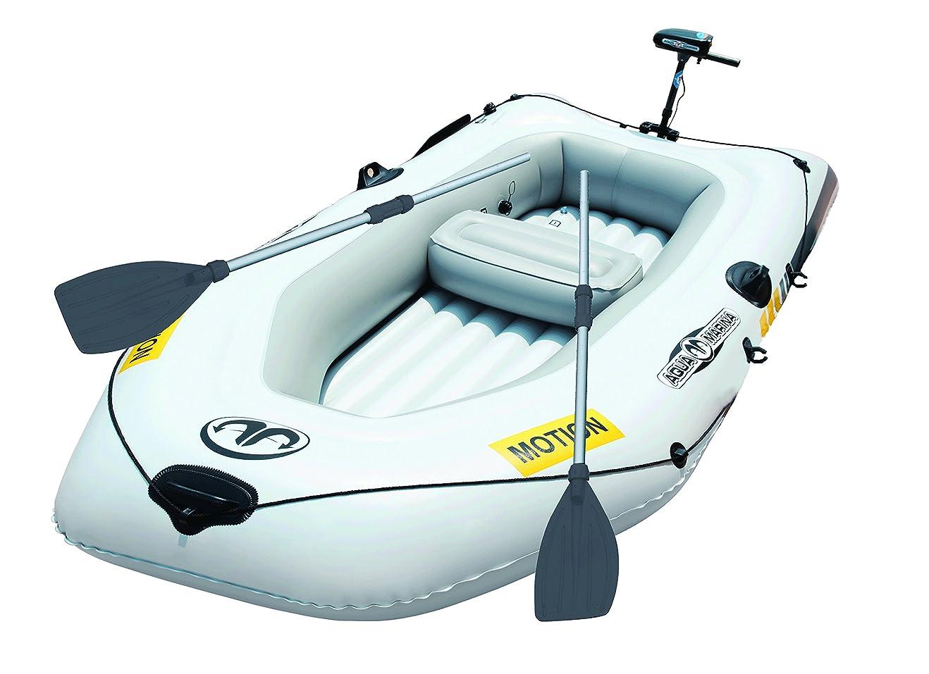 エキサイティング変化復活釣り ゴムボート フィッシングボート エレキモーターセット MOTION モーション255 2人乗り
