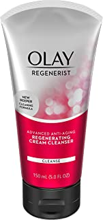 Facial Cleanser by Olay Regenerist Regenerating Cream Face Cleanser, 5.0 Fluid Ounce Packaging may Vary