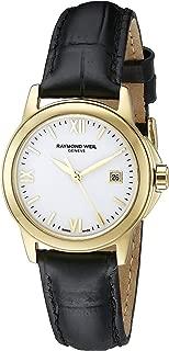 Women's 5376-P-00307 Tradition Analog Display Swiss Quartz Black Watch