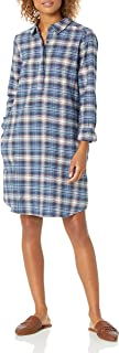 Marchio Amazon - Goodthreads Brushed Flannel Popover Dress Donna