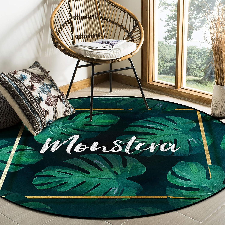 Large discharge sale COLORSUM Indoor Award Soft Comfortable Area Monstera Summer Illus Rugs