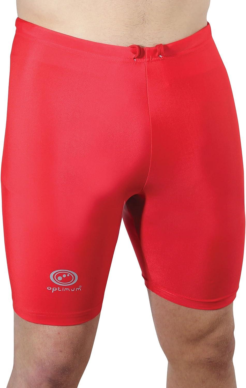 Optimum Lycra Shorts (Small Boys, Red)