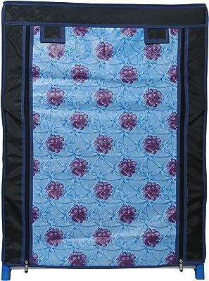 RMA Handicrafts Multipurpose Rack Black with Cover (Full)