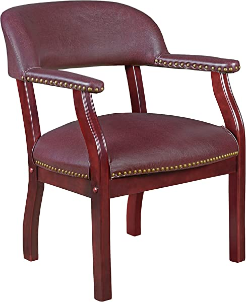 Regency Ivy League Captain Chair Burgundy
