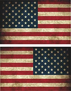 avgrafx 3m Grudge American Flags Tactical Military Flag USA Decal Jeep 5