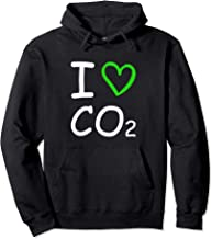 I Love Co2 Carbon Dioxide Climate Change Hoax Global Warming Pullover Hoodie