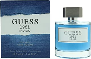Guess Perfume 1981 Indigo by Guess Eau de Toilette Spray for Men, 100 ml