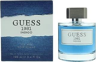 Guess Perfume 1981 Indigo by Guess Eau de Toilette Spray for Men, 100 ml
