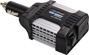 AIMS Power PWRINV100W Power Inverter with USB Port, Converts 12VDC Power from Vehicle Cigarette Lighter Socket to 120 VAC Power, 100W Continuous, 140W Max Output, Single AC Outlet