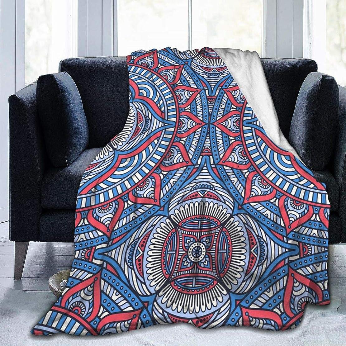 銀間違いなく資格情報曼荼羅 ヨガ インド 毛布 掛け毛布 ブランケット シングル 暖かい柔らかい ふわふわ フランネル 毛布 三つのサイズ