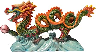 NEW Chinese Feng Shui Dragon Figurine Statue for Luck & Success #S (multi3)