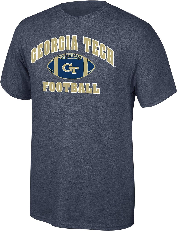 Elite Over item handling ☆ Fan Shop NCAA Mens Football NEW T-Shirt Heather Dark