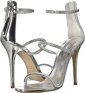 Women's Harmony Sparkle Rhinestone Chain Strap Heel Sandal