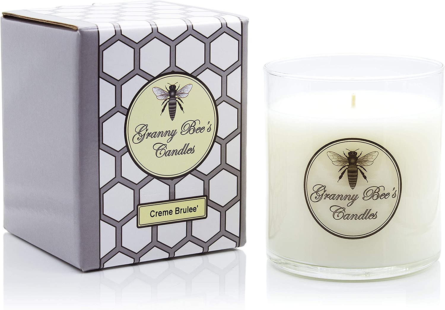 Granny Bee Department store Large Creme Brulee Scented 2021new shipping free Sweet Ounce Candle 18 -