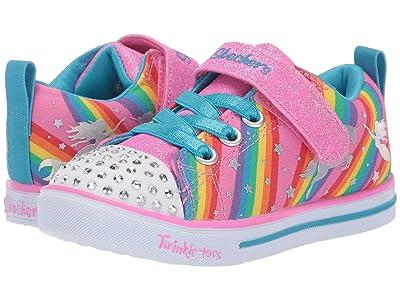 SKECHERS KIDS Twinkle Toes Sparkle Lite Magical Rainbows 20275N (Toddler) (Multi) Girl