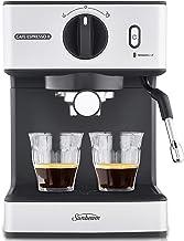 Sunbeam EM3820 Café Espresso II Coffee Machine | Espresso, Latte & Cappuccino Coffee Maker| 1.7L Water Tank | Milk Frother...