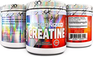 Micronized Creatine Monohydrate Powder - 5G per Serving, Supports Muscle Strength, Performance and Recovery, Keto Friendly...