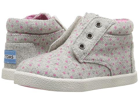 72fe9740105 TOMS Kids Paseo High Sneaker (Infant Toddler Little Kid) at 6pm