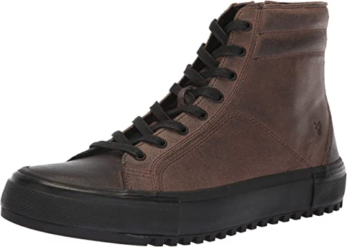 FRYE Men's Varick High Turnschuhe, grau, 9 M M US