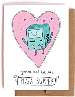 BMO the Robot Adventure Time Valentine's Day / Anniversary Card