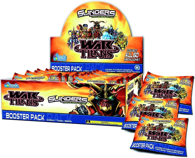 Upper Deck 202014R1 - Slingers Booster Packs, War Titans B005265840 Schön    | Verrückter Preis