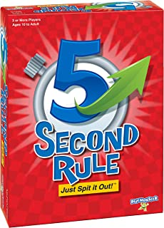 5 Second Rule 4th Edition All New Cards Just Spit It Out