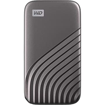 WD (WDBAGF0040BGY-WESN) 4TB My Passport SSD External Portable Solid State Drive