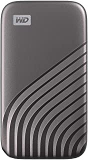 WD 1TB My Passport SSD External Portable Drive, Gray, Up to 1050 MB/s - WDBAGF0010BGY-WESN