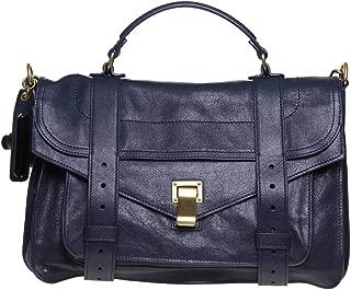 Luxury Fashion   Proenza Schouler Womens H000025001 Blue Handbag   Fall Winter 19