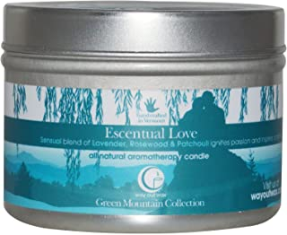 Way Out Wax, Candle Travel Tin Escentual Love Medicine, 3 Ounce