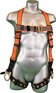 Malta Dynamics Warthog Full Body Universal Harness with Side D-Rings and Tongue Buckle Legs (S-M-L), OSHA/ANSI/CSA Compliant