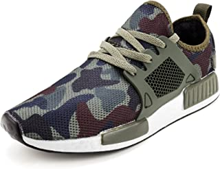 recorrer Militalia Men's Lace-Up Camouflage Casual Sneaker Shoes