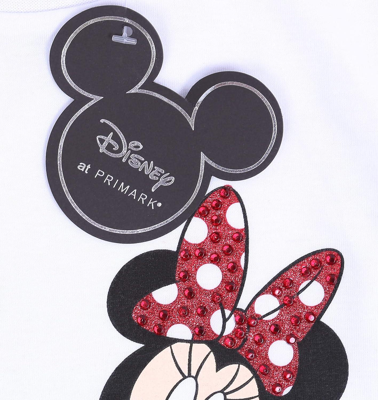 Camiseta Blanca Minnie Disney