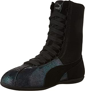 PUMA Womens Eskiva Hi Deep Summer Cross Training Casual Sneakers,