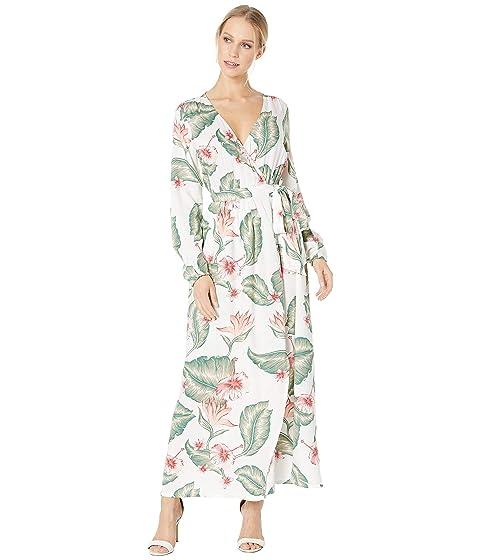 95dc91356d5adb Roxy Taste Of Tomorrow Maxi Wrap Dress at Zappos.com