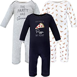 Hudson Baby Kombinezon dziecięcy Uniseks - niemowlęta Hudson Baby Unisex Baby Cotton Coveralls, Pizza