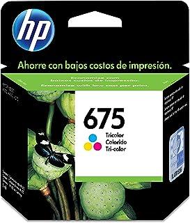 Cartucho Tinta, HP, CN691AL, 675, Tricolor