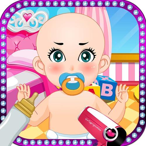 Bebê jogos de médico meninas