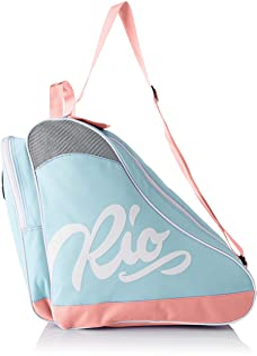 comprar comparacion Rio Roller Script Skate Bag, Bolsa de Tela y de Playa Unisex Adulto, 24x15x45 cm (W x H x L)