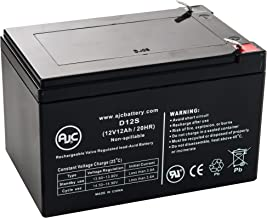 Gruber Power GPS12-12, GPS-12-12F2 12V 12Ah UPS Battery - This is an AJC Brand Replacement