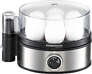 Rommelsbacher ER 400 Egg Boiler, Silver/Black