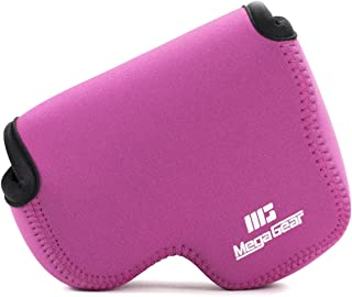 MegaGear Estuche de cámara Ultra Ligero de Neopreno Compatible con Nikon Coolpix L340