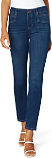 """Liverpool Women's Gia Glider Slim with Welt Pockets 29"""" Ins"""