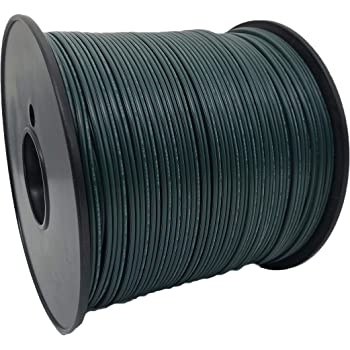 Aniai SPT-1 18 Guage /2 Zip Cord, Electrical Wire, UL List, 1000' Spool. for Light and Lamp Extension Cord, Copper wires (Green)