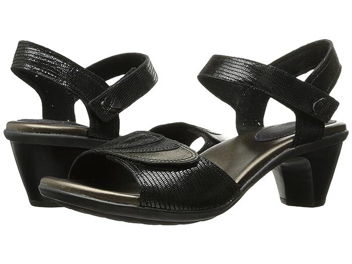 Aravon  Medici Sandal (Black) Womens Sandals