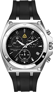 Trouvaille Watches Deluxe - Black Chronograph