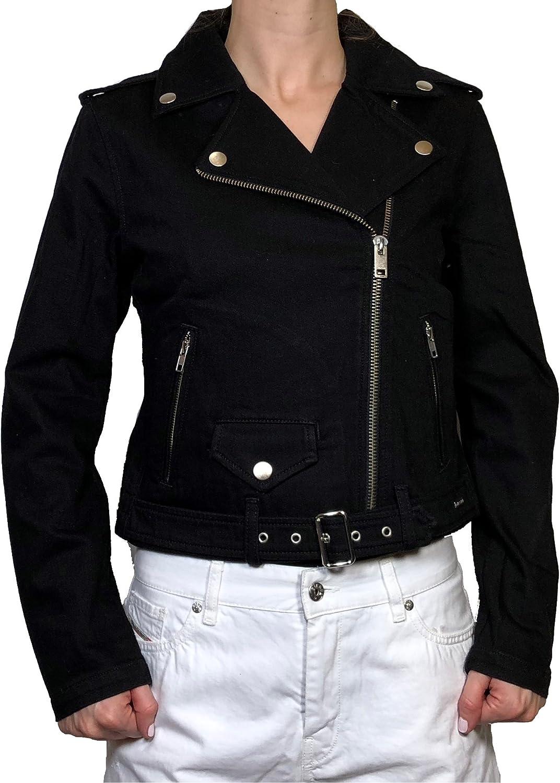 Diesel Womens Jeans Jacket R-Lupus Black