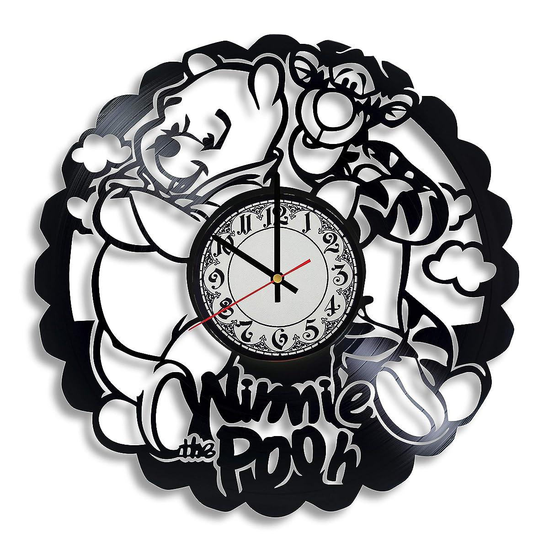 Lepri4ok Winnie The Pooh   Disney Vinyl Record Wall Clock, Winnie The Pooh Gift for Any Occasion